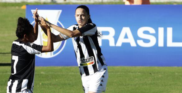 O Botafogo fez um gol no começo