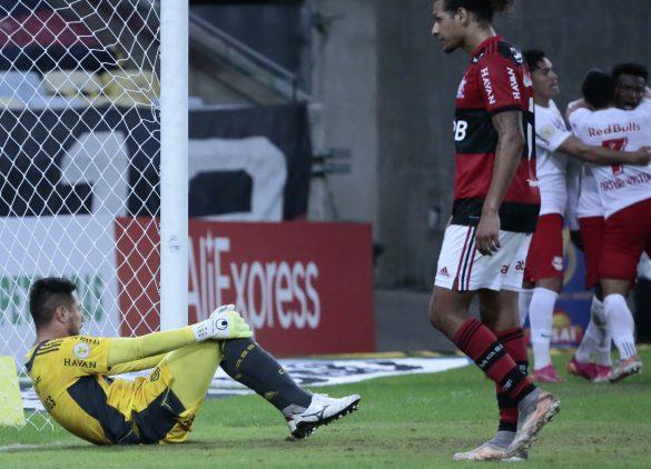 O Flamengo não esperava a derrota em casa