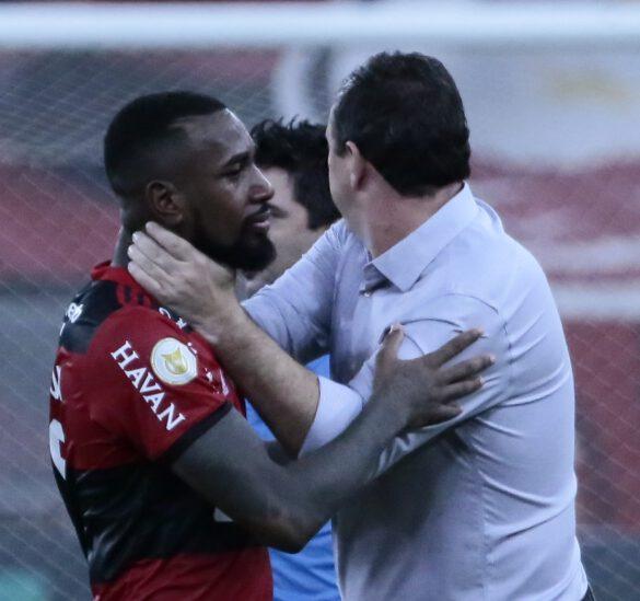 Rogério Ceni se despede do Gerson