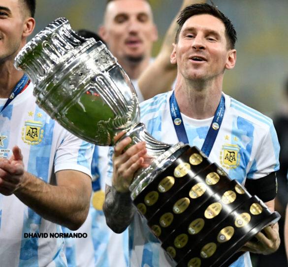 A taça é da Argentina